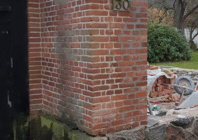 Solbænke samt murer reparation